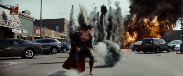man of steel smallville fight