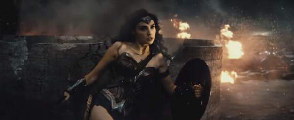 wonder woman batman v superman trailer