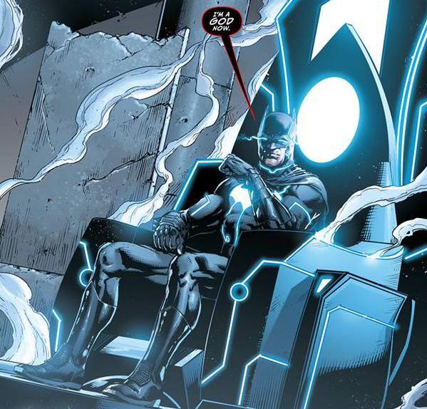 justice league 42 bat-god