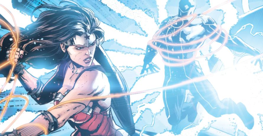 justice league 42 wonder woman