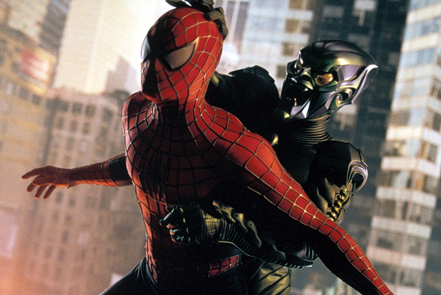 spider man and green goblin