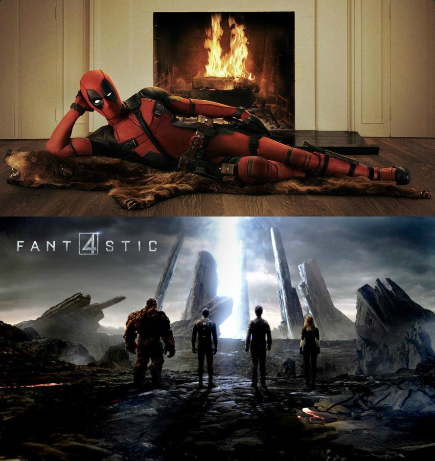 deadpool fantastic four what happens when your studio is ashamed of you