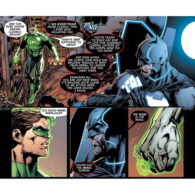 justice league 44 bat-god green lantern