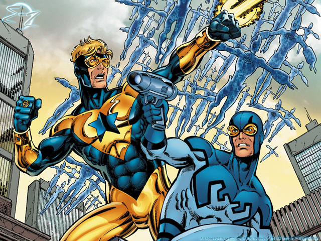 booster gold blue beetle team up movie rumour greg berlanti
