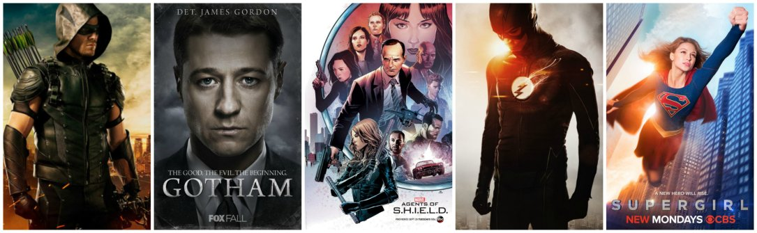 best comic book tv shows fall 2015