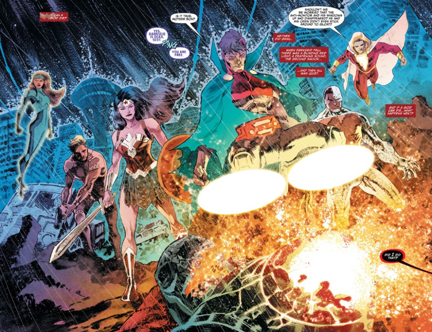 justice league 45 review
