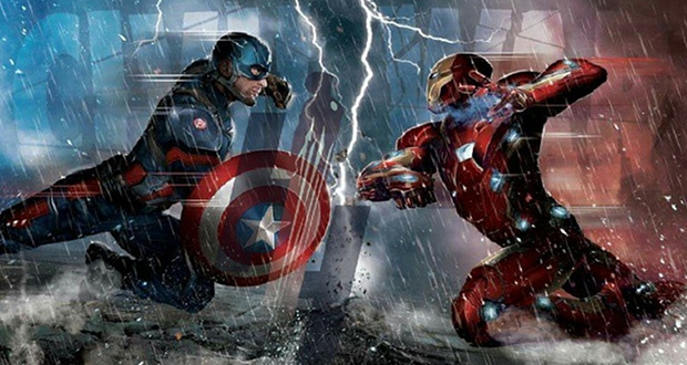 captain america civil war marketing