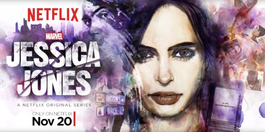 is binge watching tv shows bad jessica jones