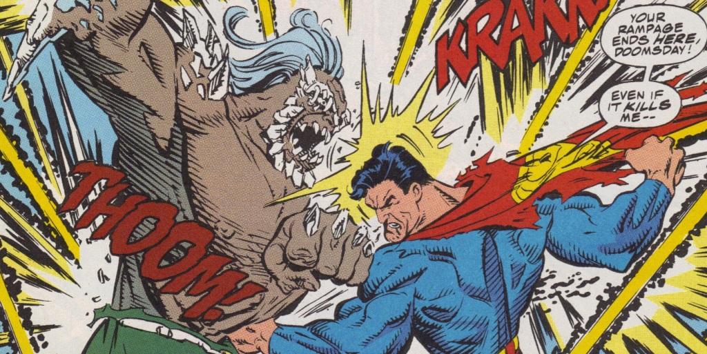 batman v superman doomsday death of superman