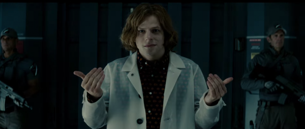 lex luthor jessie eisenberg batman v superman