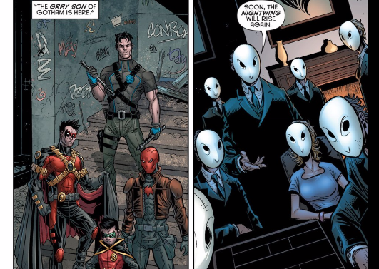 robin war #1 review the gray son