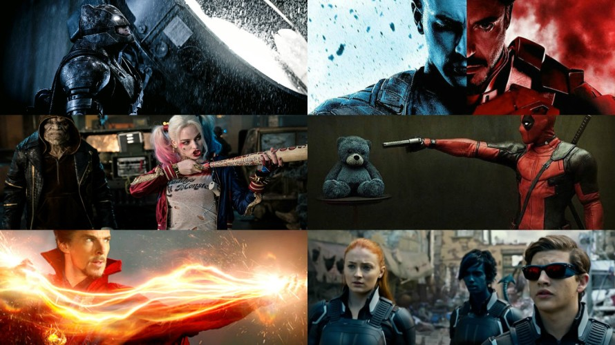 why 2016 is the most important year for comic book movies