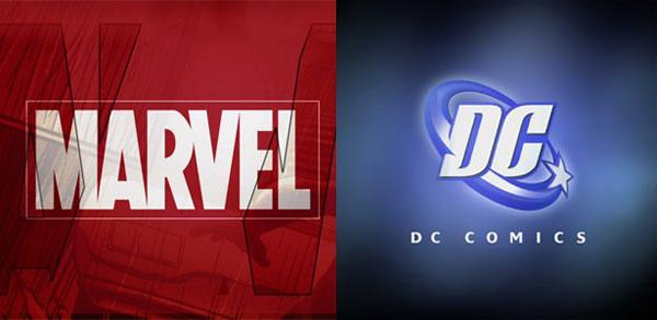 marvel and dc brand superhero movies