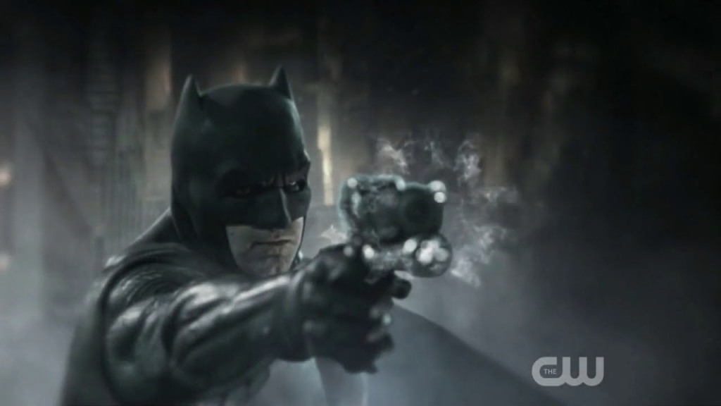 batman with gun batman v superman dc films