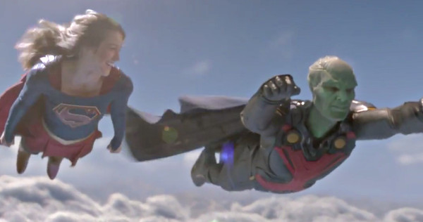 supergirl episode 10 martian manhunter flying