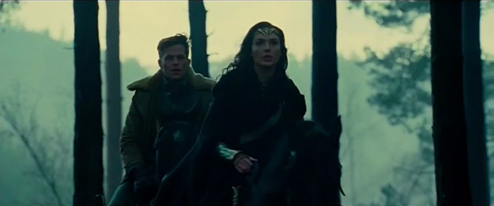 wonder woman first look footage
