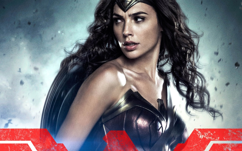wonder woman batman v superman character poster