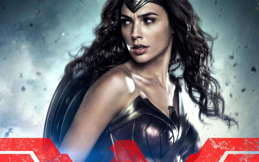 wonder woman batman v superman character poster