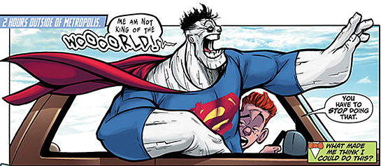 bizarro and jimmy olsen
