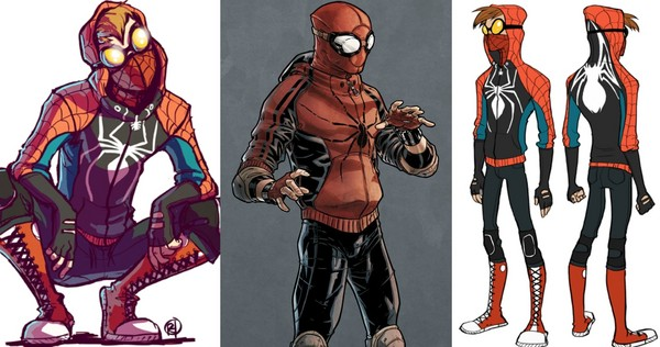 spider-man civil war concept art