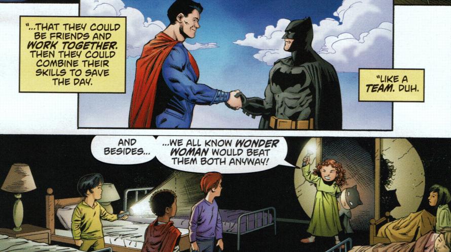 batman v superman prequel comics link