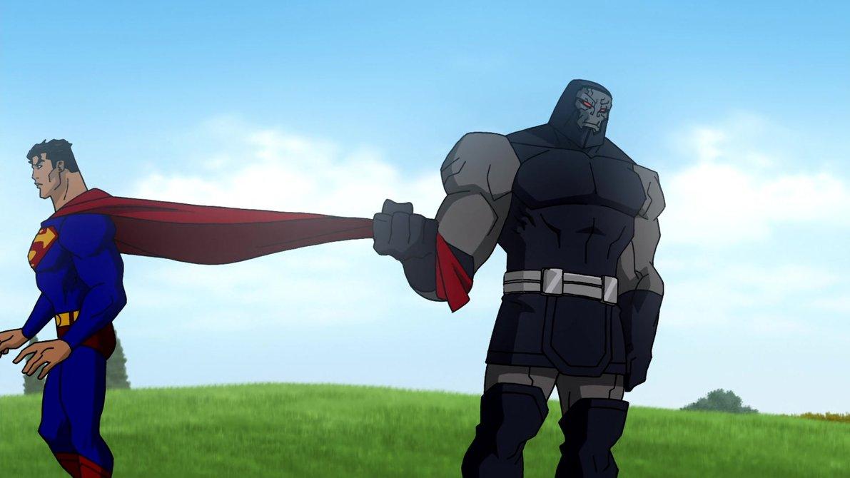 superman meets wonder woman gif
