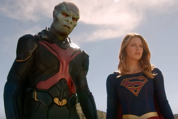 supergirl season 1 finale superboy discussion