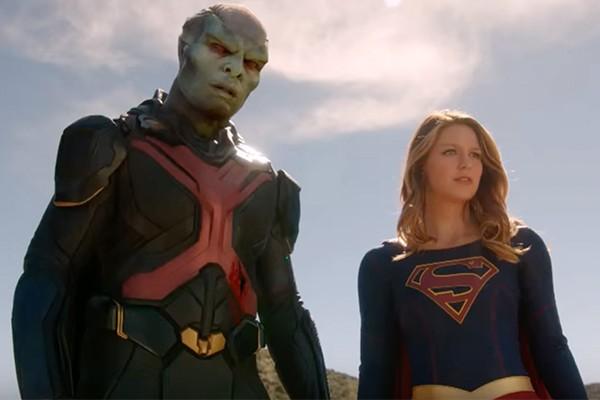 supergirl season 1 finale superboy discussion