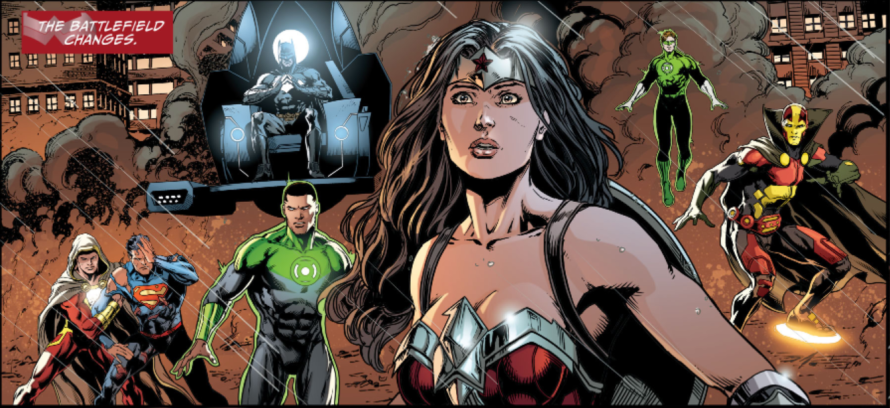 justice league #49 review spoilers