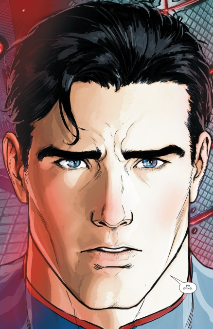 dc rebirth new 52 superman dying