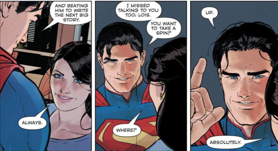 superman 51 review lois superman panel