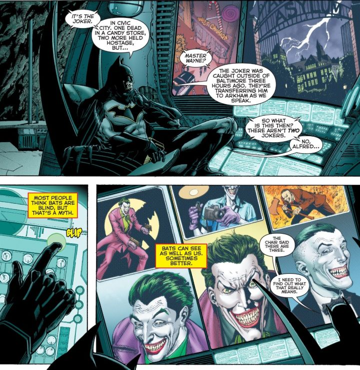 what does it mean there are 3 jokers rebirth