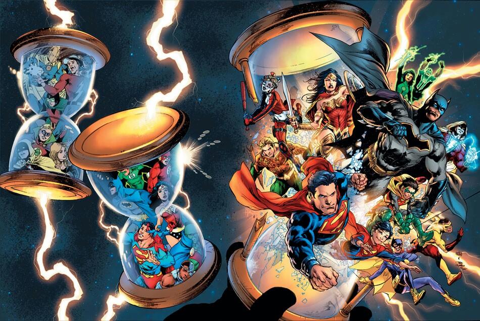 dc rebirth a success july comic book sales