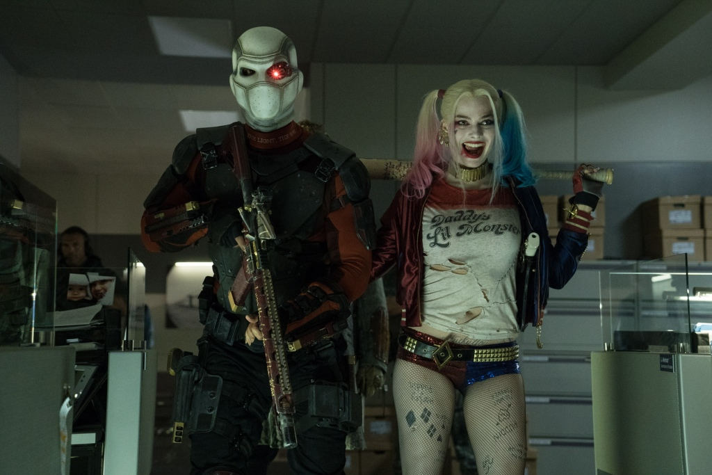 suicide squad spoilers review deadshot and harley quinn