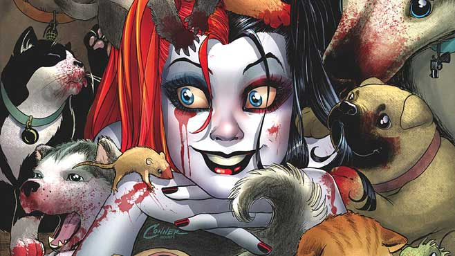 harley quinn personality insanity crazy