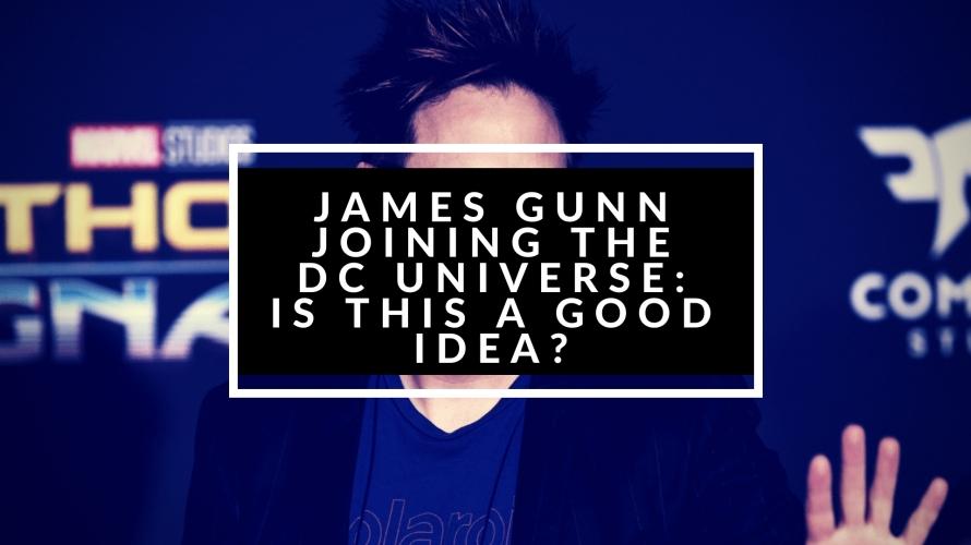 james gunn joining dc universe
